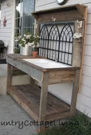 Diy Pallet Bench Instructions Nice Garden Work Table Diy Pallet Garden Work Bench Pallet