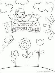 coloring pages for kids about jesus love coloring home