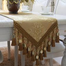 Beaded Table Linens - s u0026v high grade luxury european style table runner embroidered