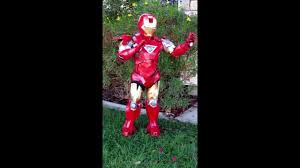 Iron Man Halloween Costume Iron Man Halloween Costume Boy Sized