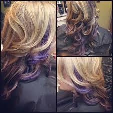 chunking highlights dark hair pictures purple hair color ideas shades of purple hairstyles hair