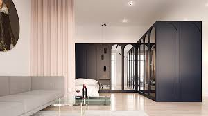 minimalist apartment interior design combines a simple range of concretica open plan design ideas