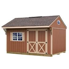 best barns northwood 10 ft x 14 ft wood storage shed kit with