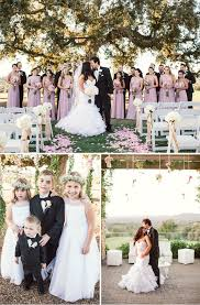 real weddings runway to real wedding gorgeous outdoor wedding maggie