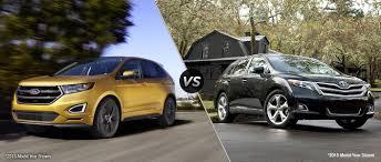 toyota venza ford edge vs 2016 toyota venza
