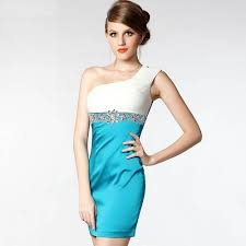 simple short prom dress images