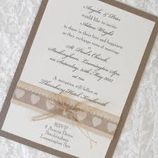 country chic wedding invitations rustic country chic wedding invitations x 5 personalised primitive