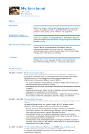 Sales Consultant Resume Sample by Business Consultant Resume Samples Visualcv Resume Samples Database
