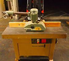 Woodworking Machine Auctions California by Woodworking Shaper Ebay