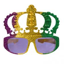 mardi gras crown metallic glitter mardi gras crown sunglasses mg47 107