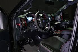 2018 ford f 150 raptor mad industries black drivers interior