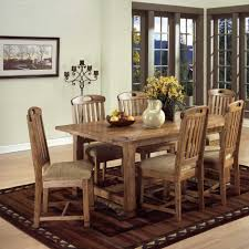 dining room traditional dining room design with rectangular brown