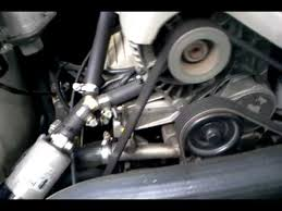 95 vs commodore growling noise dying idler pulley youtube