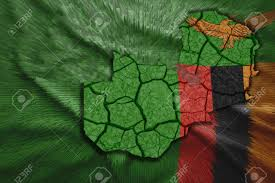 Uganda Flag Colours Map Of Zambia In National Flag Colors Stock Photo Picture And