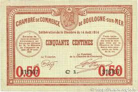 chambre de commerce de boulogne sur mer 50 centimes regionalism and miscellaneous boulogne sur mer