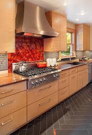 kitchen backsplash ideas with light maple cabinets kitchen backsplash ideas a splattering of the most popular