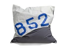 contemporary pouf fabric square outdoor maxi bean bag main
