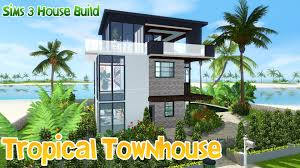 Design A House Online For Free The Sims House Building Caribbean Dream Speed Build Youtube Idolza