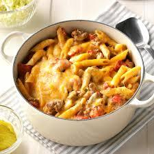stovetop cheeseburger pasta recipe taste of home
