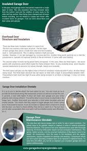 Overhead Door Maintenance by Garage Door Repair Glendale Our Infographic 818 742 9196