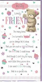 best friend birthday card amazon co uk