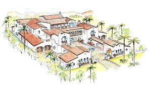 spanish style home plans spanish style courtyard home plans living room design