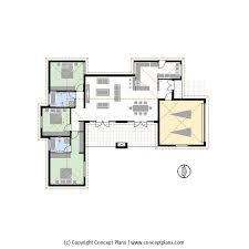 Cad House Cp0221 2 3s2b2g U2013 House Floor Plan Pdf Cad Concept Plans