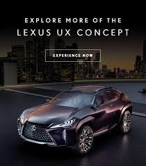 future lexus cars future proofing the lexus ux concept lexus international