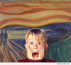 Scream Meme - scream home alone by ben meme center