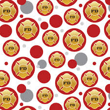 gift wrap paper premium gift wrap wrapping paper pattern firefighter firemen