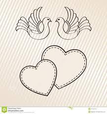 annonce de mariage annonce de mariage illustration de vecteur image du conception