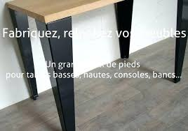 pied de bureau pied de table metal design avec bureau sign table sign pied table