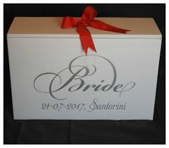 wedding dress boxes for travel wedding dress travel box with date and location santorini
