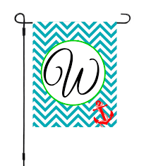 Monogram House Flags Monogram Garden Flags Etsy Home Outdoor Decoration