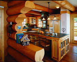 log home interior pictures six steps to a better log home kitchen