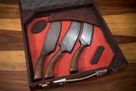coffret de couteaux de cuisine 18 coffret couteaux de cuisine damas