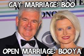 Newt Gingrich Meme - newt gingrich says loving callista means always having to say you