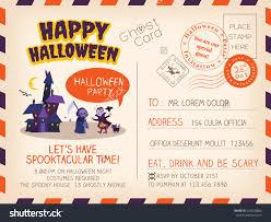 postcard halloween invitations u2013 halloween wizard