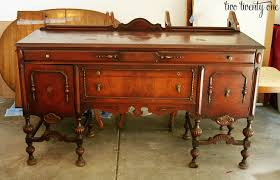 Vintage Sideboard Antique Buffet Furniture What Do I Do With You An Antique