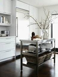 stainless steel kitchen island inspired by stainless steel kitchen islands kitchn