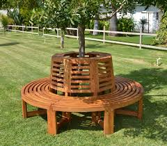 bench deck around trees awesome around the tree bench idea for