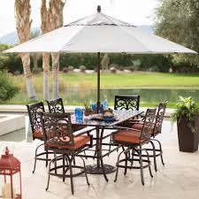Solar Lights For Umbrella by Green Rectangle Patio Umbrella With Solar Lights With Square Metal