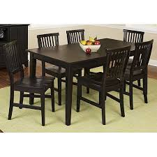 Arts And Crafts Dining Room Furniture by Home Styles Arts U0026 Crafts 7 Piece Dining Set Ebony Walmart Com