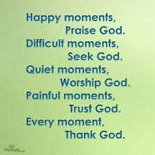 in every moment thank god inspirations