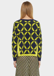 versace argyle knit sweater for us store