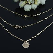 round plate necklace images Fashion gold name necklace personalized name necklace chains gold jpg