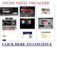 online wheel visualizer online wheel visualizer