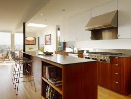 kitchen with stainless steel backsplash apartments modern kitchen design with cookbook storage and custom