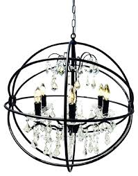 Black Traditional Chandelier Black Wrought Iron Chandelier With Crystals U2013 Eimat Co