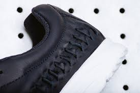 obsidian color the nike mayfly woven gets covered in obsidian leather